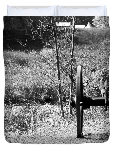 Canon Fire Duvet Cover by LeeAnn McLaneGoetz McLaneGoetzStudioLLCcom