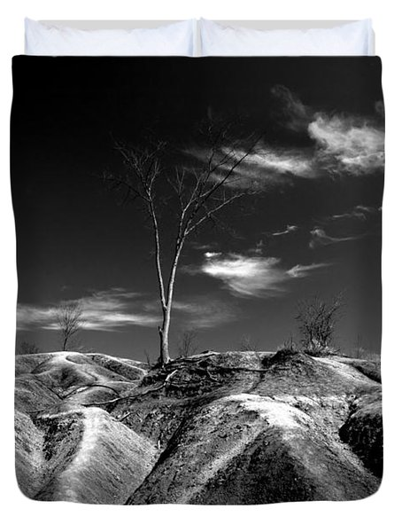 Cheltenham Badlands Duvet Cover by Cale Best