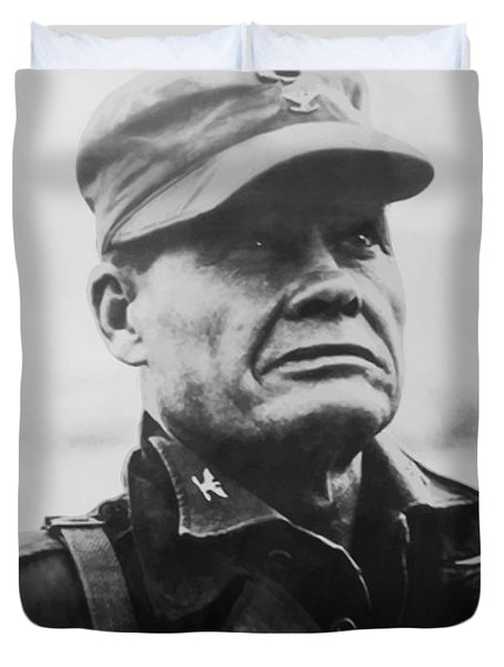 Chesty Puller Duvet Cover by War Is Hell Store