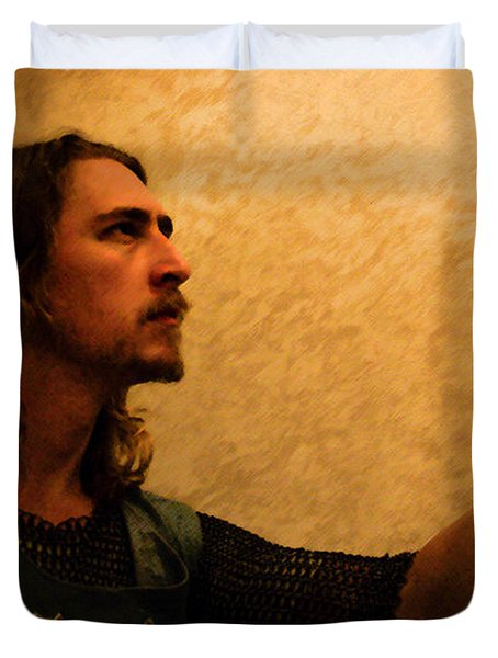 Chivalry Duvet Cover by Christopher Gaston