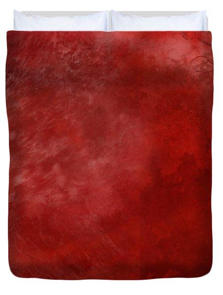 Crimson China Duvet Cover by Christopher Gaston