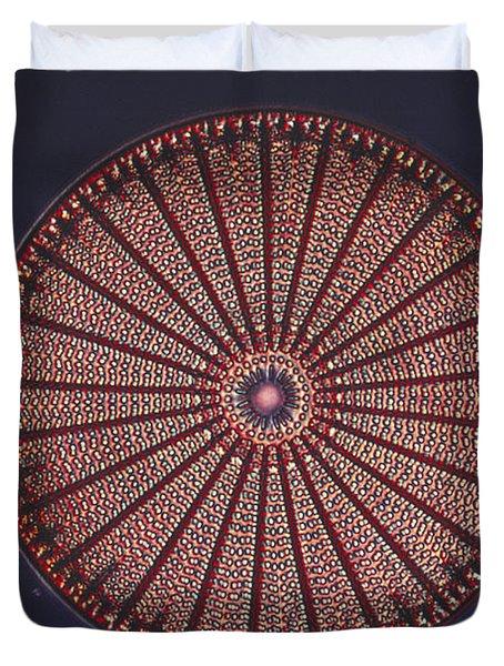 Diatom Duvet Cover by Eric V. Grave