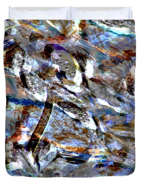Digital Fall Duvet Cover by LeeAnn McLaneGoetz McLaneGoetzStudioLLCcom