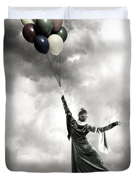 Floating Duvet Cover by Joana Kruse