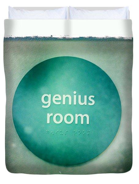 Genius Room Duvet Cover by Nina Prommer