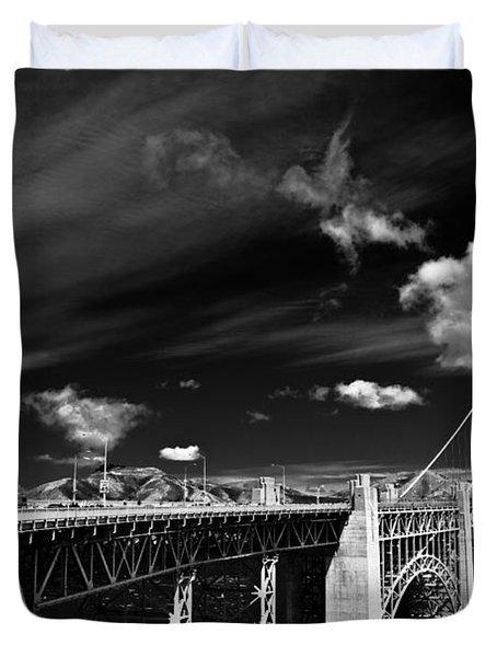 Golden Gate Duvet Cover by Ralf Kaiser