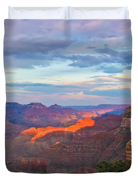 Grand Canyon Grand Sky Duvet Cover by Heidi Smith