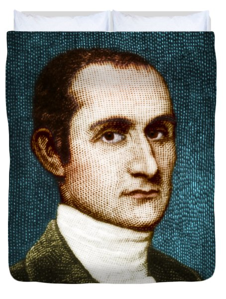 John Jay, American Founding Father Duvet Cover by Photo Researchers