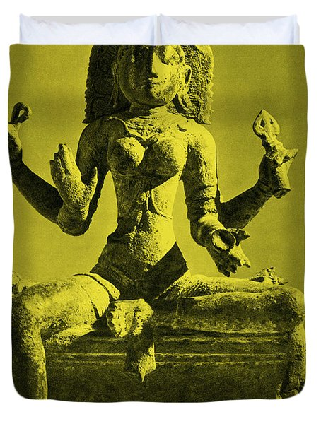 Kali Duvet Cover by Photo Researchers