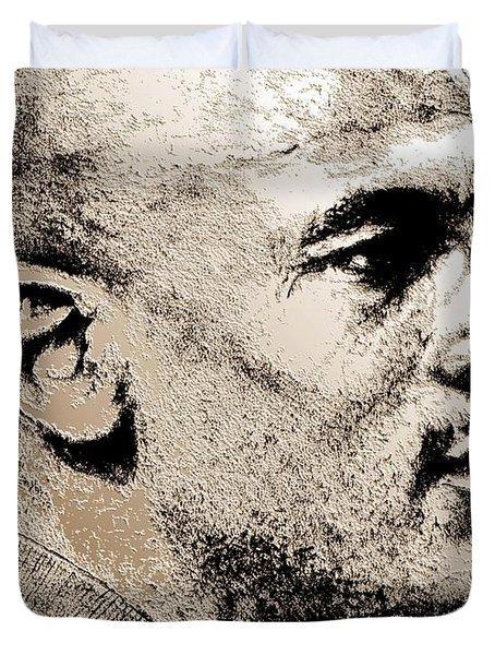 Michael Jordan In 1990 Duvet Cover by J McCombie