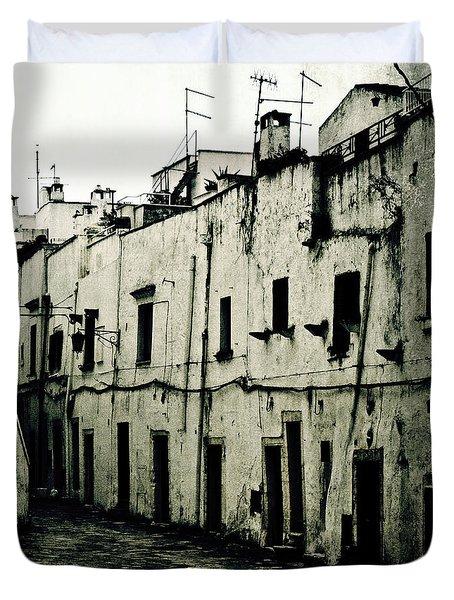 Ostuni - Apulia Duvet Cover by Joana Kruse