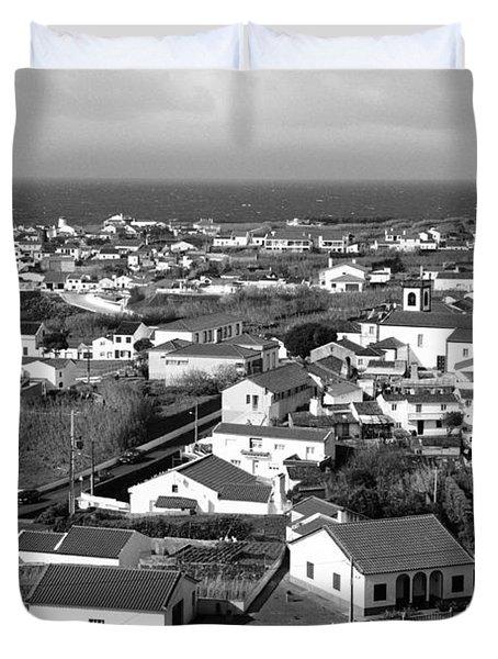 Parish In The Azores Duvet Cover by Gaspar Avila