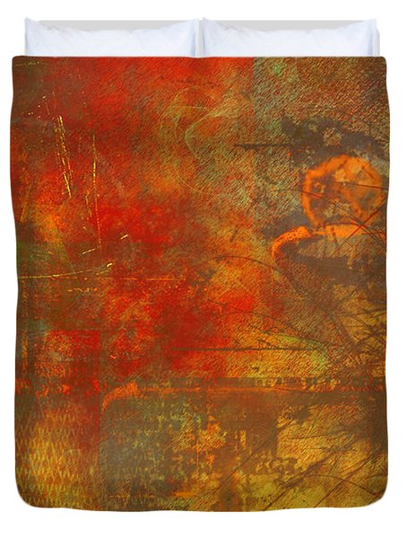 Price Of Freedom Duvet Cover by Christopher Gaston