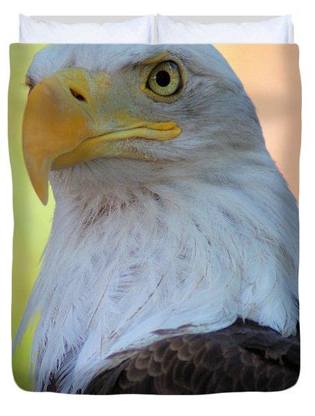 Regal Eagle Duvet Cover by Linda Eshom