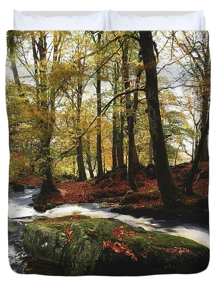 Sally Gap, County Wicklow, Ireland Duvet Cover by The Irish Image Collection