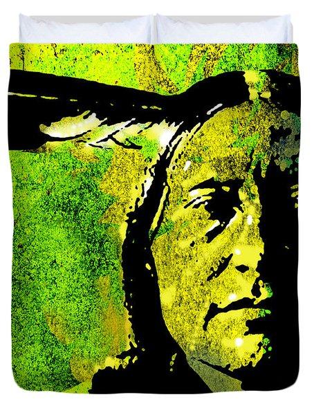 Scabby Bull Duvet Cover by Paul Sachtleben