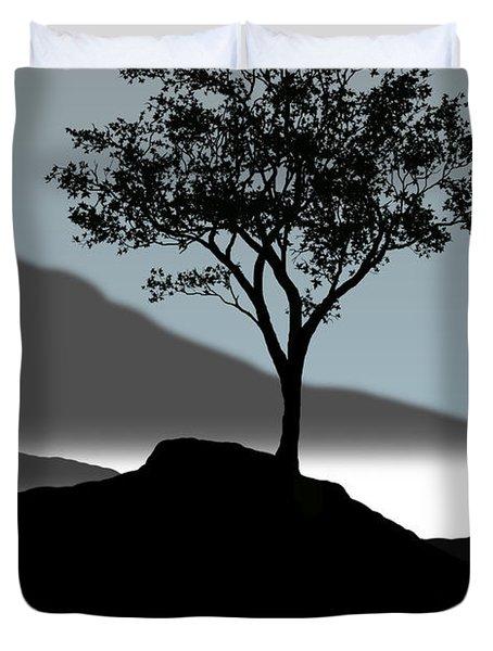 Serene Duvet Cover by Chris Brannen