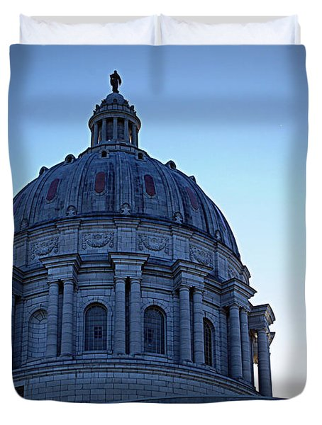 Show-me State Capitol Duvet Cover by Cricket Hackmann