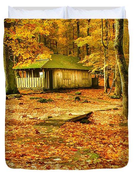 Solitude Duvet Cover by Darren Fisher