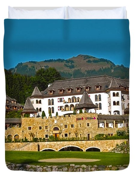 Spa Resort A-rosa - Kitzbuehel Duvet Cover by Juergen Weiss