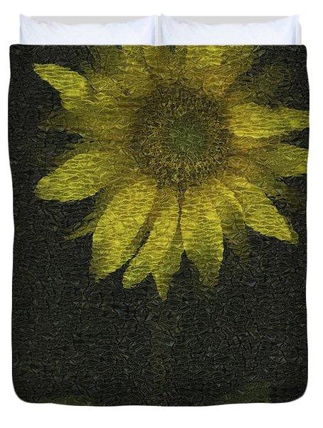 Sunflower Duvet Cover by Deddeda