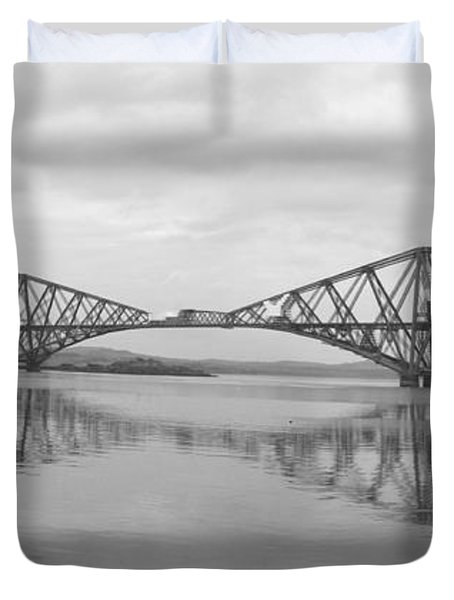 The Forth - Scotland Duvet Cover by Mike McGlothlen