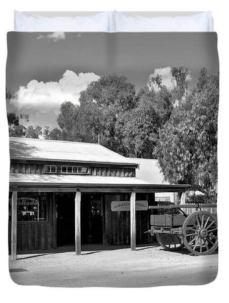 The Heritage town of Echuca Victoria Australia Duvet Cover by Kaye Menner
