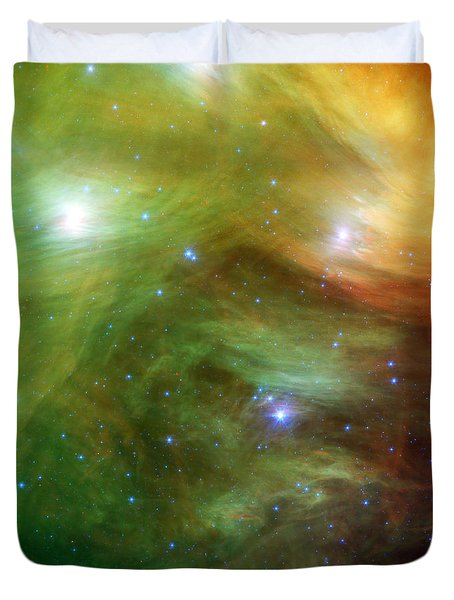 The Seven Sisters, Also Known Duvet Cover by Stocktrek Images