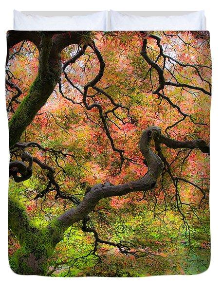 Tree of Beauty Duvet Cover by Steve McKinzie