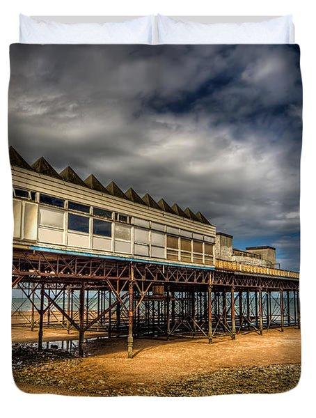 Victoria Pier Duvet Cover by Adrian Evans