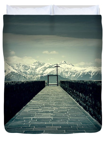 Way To Heaven Duvet Cover by Joana Kruse
