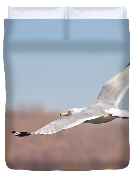 Wingspan Duvet Cover by Bill Cannon