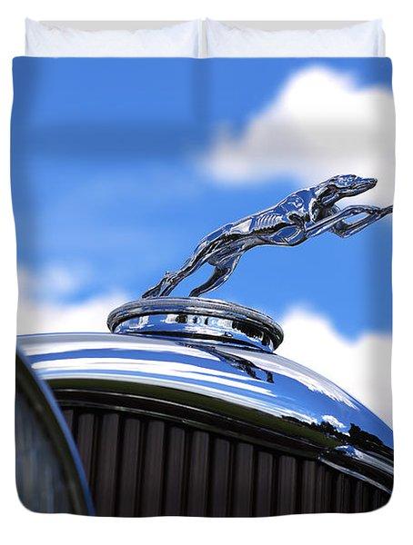 1932 Lincoln Kb Brunn Phaeton Duvet Cover by Gordon Dean II