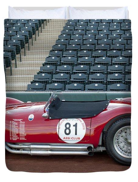 1954 Maserati A6 GCS  Duvet Cover by Jill Reger