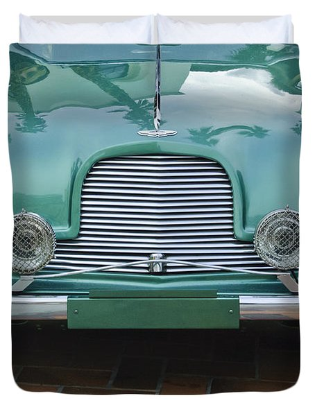 1955 Aston Martin Duvet Cover by Jill Reger