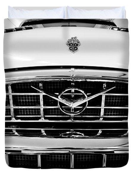 1956 Packard Caribbean Custom Cvt Duvet Cover by Sebastian Musial