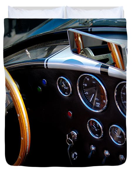 1966 Ford Ac Shelby Cobra 427 Duvet Cover by David Patterson