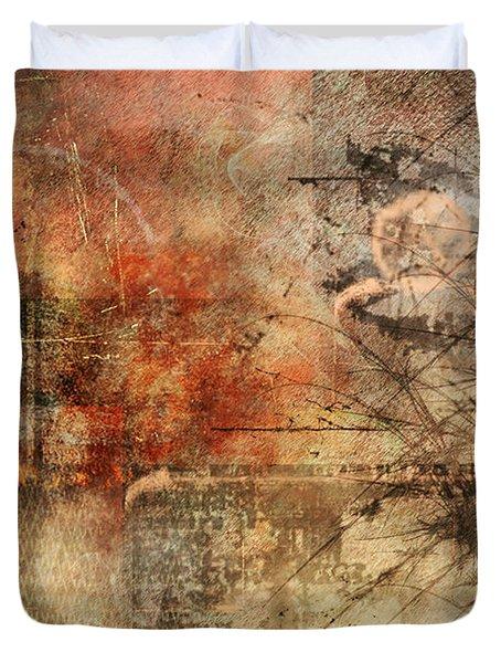Entropy Duvet Cover by Christopher Gaston