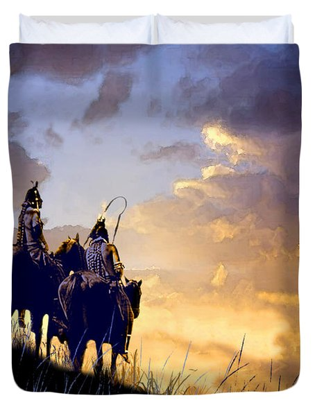 Going Home Duvet Cover by Paul Sachtleben