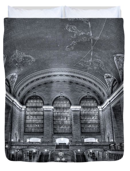 Grand Central Station Duvet Cover by Susan Candelario