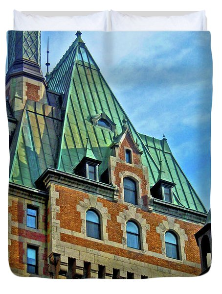 Le Chateau ... Duvet Cover by Juergen Weiss