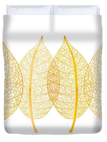 Leaves Duvet Cover by Frank Tschakert