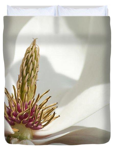 Magnolia Duvet Cover by Sophie De Roumanie