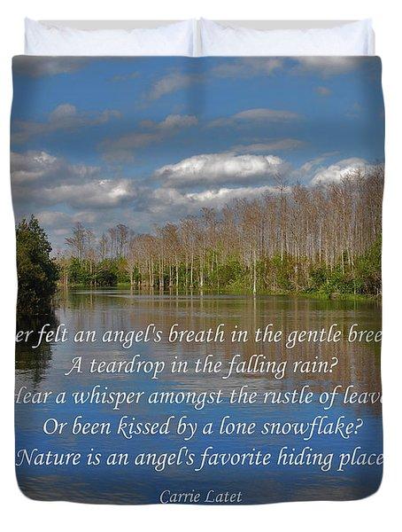22- An Angel's Breath Duvet Cover by Joseph Keane