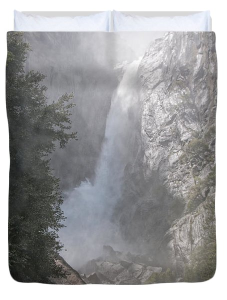 Yosemite Duvet Cover by Carol Ailles