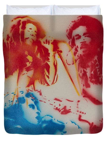 3 Hero's Duvet Cover by Barry Boom