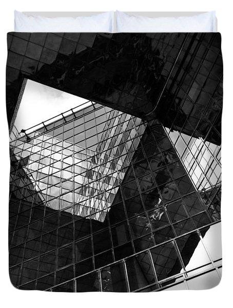 London Southbank Abstract Duvet Cover by David Pyatt