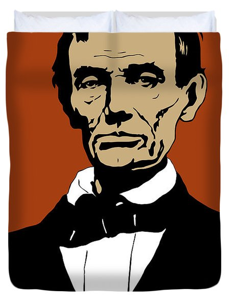 President Lincoln Duvet Cover by War Is Hell Store