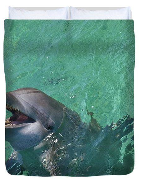 Roatan, Bay Islands, Honduras Duvet Cover by Stuart Westmorland