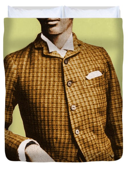 W.e.b. Du Bois, Civil Rights Activist Duvet Cover by Photo Researchers